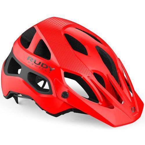 protera kask rowerowy czerwony/czarny s-m | 54-58cm 2019 kaski rowerowe marki Rudy project