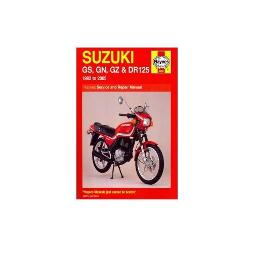 Suzuki Gs, Gn, Gz And Dr125 Service And Repair Manual, Churchill, Jeremy