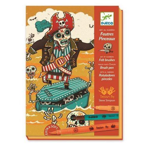 Djeco Zestaw artystyczny - piraci (3070900086456)