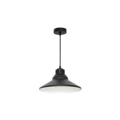 Lampa wisząca SINGLE 5 1xE27/60W/230V czarna