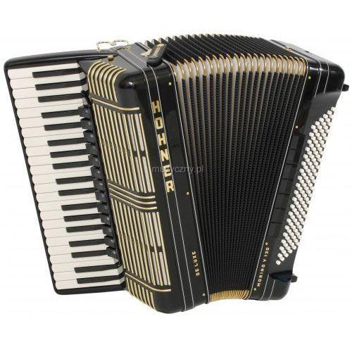 Hohner Morino+ V 120 De Luxe akordeon (czarny) - produkt z kategorii- Akordeony