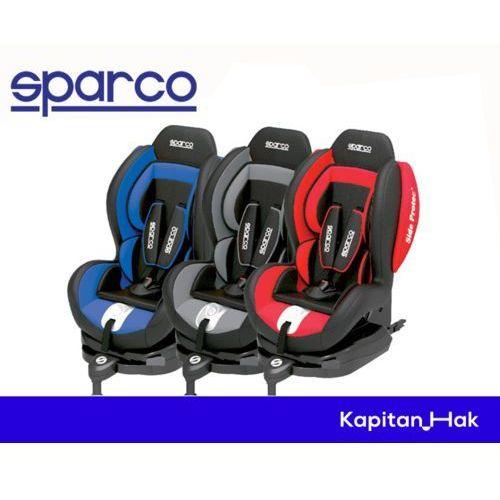 f500i - fotelik samochodowy dla dzieci od 9 do 18 kg (kolor szary) - szary marki Sparco
