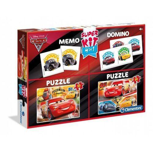 2x30 elementów memo domino cars 3 - darmowa dostawa od 199 zł!!! marki Clementoni