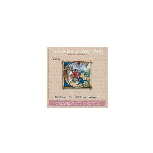 Jasnogórska Muzyka Dawna Musica Claromontana Vol. 8, MCCD 08
