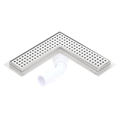 odwodnienie narożne syfon plastikowy 900x900 marki Kesmet
