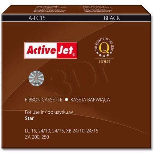 ActiveJet A-LC15 taśma Czarny do drukarki Star (zamiennik Star 89511420) Supreme..., EXPACJTAR0003