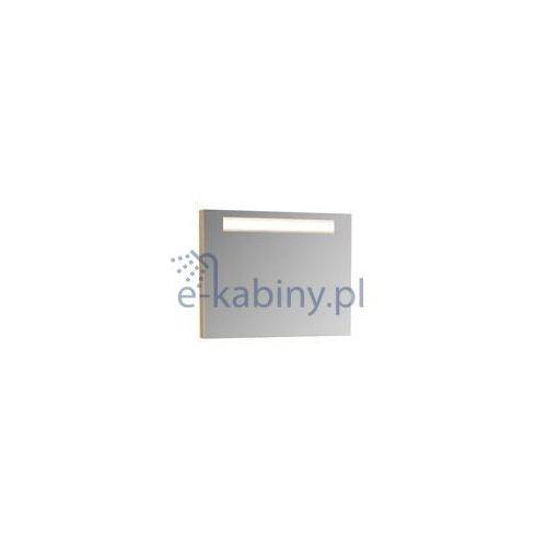 RAVAK Classic 800 Lustro z oświetleniem 80x55 cm, kolor CAPPUCCINO X000000955, X000000955