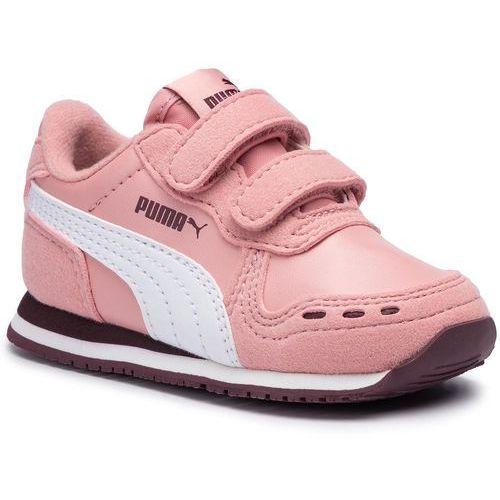 Sneakersy PUMA - Cabana Racer SL V Inf 351980 79 Bridal Rose/Puma White, kolor różowy