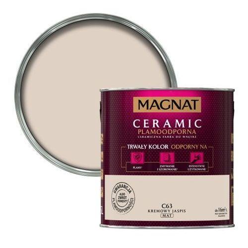 Śnieżka Farba ceramiczna magnat ceramic c63 kremowy jaspis 2.5l (5903973155409)