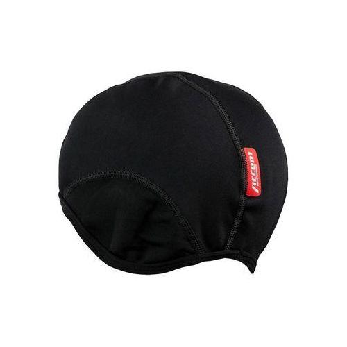 Czapka rowerowa Accent Softshell czarna S/M