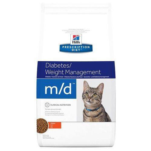 Hills Prescription Diet m/d Diabetes/Weight Management - 5 kg| Darmowa Dostawa od 89 zł i Super Promocje od zooplus!