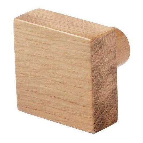 Wieszaczek drewniany GoodHome Nantua naturalny (3663602674993)