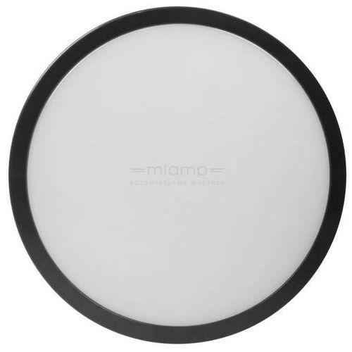 Natynkowa LAMPA sufitowa EK729 Eko-light ścienna OPRAWA okrągła LED 24W kinkiet IP65 czarny biały (1000000445442)