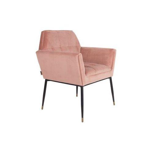 Dutchbone Fotel KATE różowy 1200152 (8718548036918)