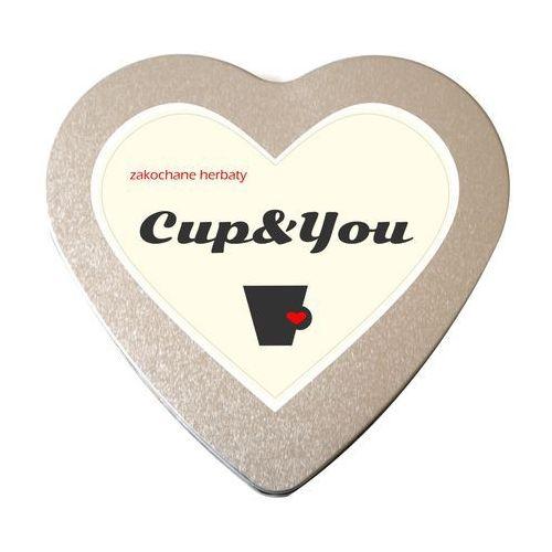 Zakochane herbaty serce saszetki 5g, 8g – zestaw herbat na prezent upominek marki Cup&you cup and you