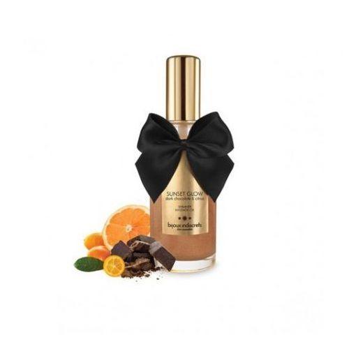 Olejek do masażu jadalny - Bijoux Cosmetiques Dark Chocolate Massage Oil Ciemna Czekolada