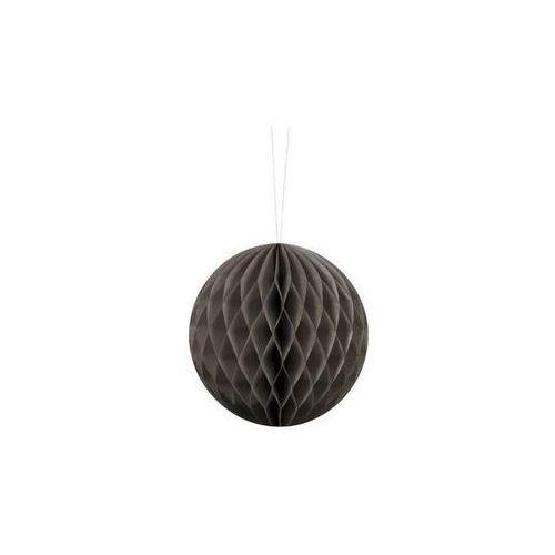 Dekoracja wisząca kula ciemnobeżowa - 10 cm - 1 szt. marki Party deco