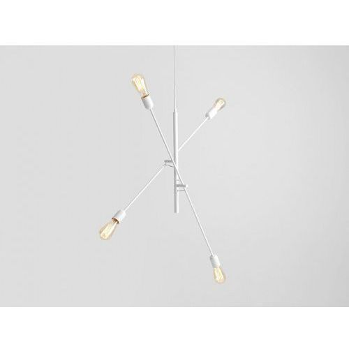 Customform Lampa sufitowa w stylu industrialnym twigo 4- kolor biały