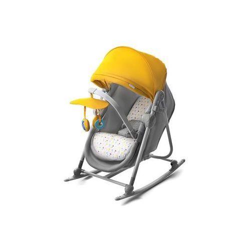 Leżaczek bujaczek łóżeczko 5w1 unimo żółty - marki Kinderkraft