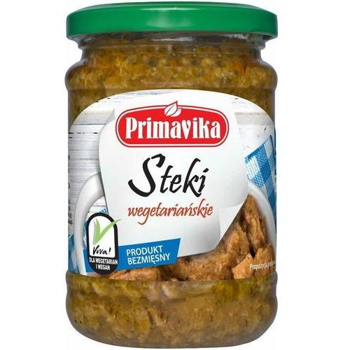Steki wegetariańskie 250g marki Primavika