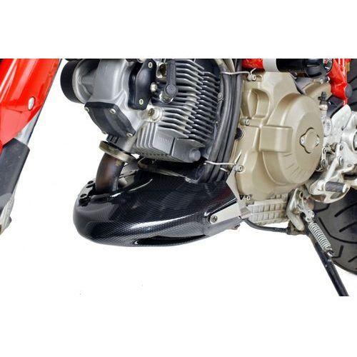 Spoiler silnika PUIG do Ducati Hypermotard 796 10-12 / 1100 / S 08-12 (karbon) - produkt z kategorii- Pozostałe akcesoria motocyklowe