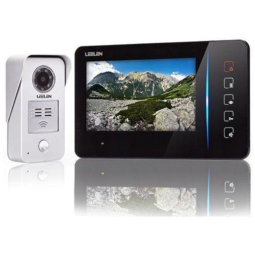 Wideodomofon - 7cali N60/No15nc+3xbrelok (z czytnikiem)