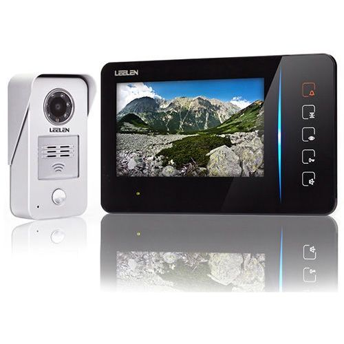 Wideodomofon - 7cali N60/No15nc/DIN+3xbrelok (z czytnikiem)