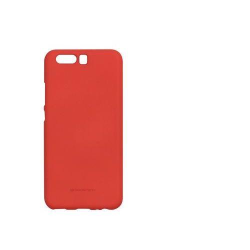 Huawei P10 - etui na telefon Mercury Goospery Soft Feeling - czerwony, kolor czerwony