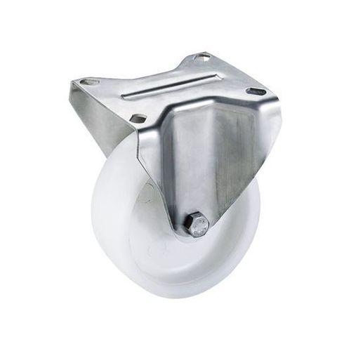 Kółko z poliamidu, obudowa ze stali szlachetnej, Ø x szer. kółka 200x50 mm, rolk