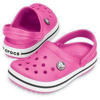 crocband fuchsia różowe fuksja klapki dla dzieci różne rozmiary marki Crocs