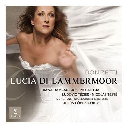 Warner music poland Donizetti: lucia di lammermoor (live recording) - diana damrau (płyta cd) (0825646219018)