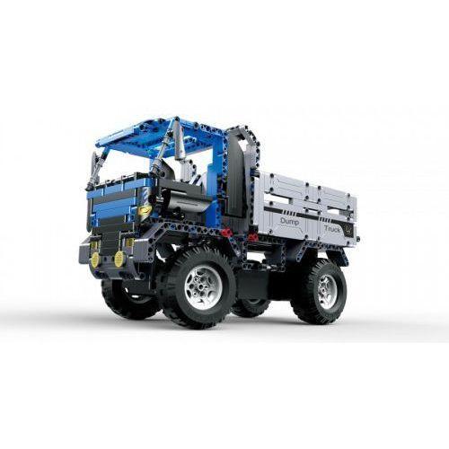 Ciężarówka wywrotka - do zbudowania z klocków - ZDALNIE STEROWANA (C51017W)