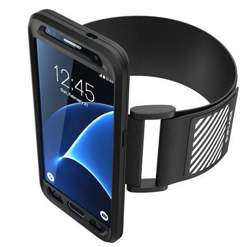 sport armband galaxy s7 black, marki Supcase