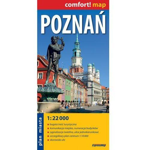 Poznań plan miasta 1:22 000 (2 str.)