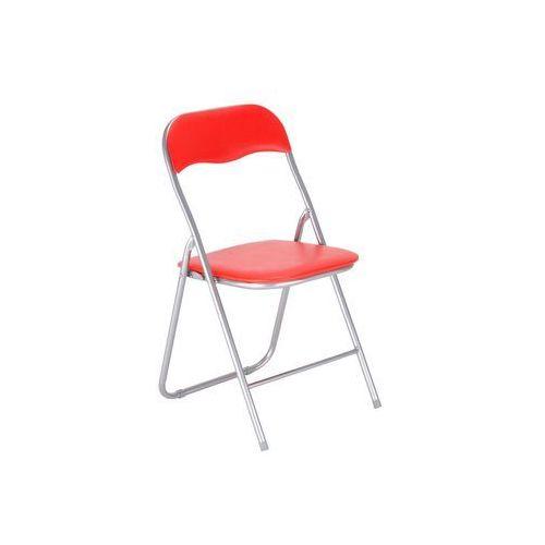 Nowy styl Krzesło składane pedro kolor czerwony