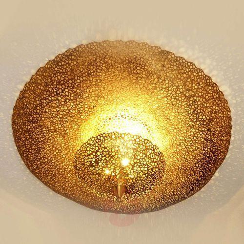 Holländer utopistico lampa ścienna mosiądz, złoty, 3-punktowe - nowoczesny/design - obszar wewnętrzny - utopistico - czas dostawy: od 2-3 tygodni (4250151330037)