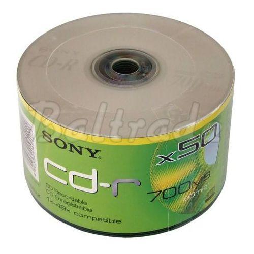 Płyty cd-r 50szt. 700mb 80min marki Sony