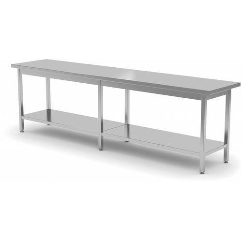Stół centralny z półką | szer: 2000-2800mm|gł. 700 mm marki Polgast