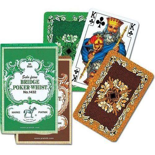 Karty Liście Dębu - Bridge Poker Whist, AM_9001890143212