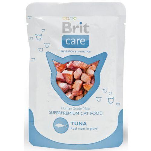 Brit care cat pouch tuna- mokra karma dla kotów - saszetka 80g (8594031447023)