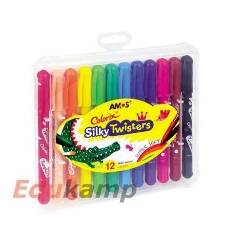 Kredki Silky Twisters 12 kolorów (8802946507597)