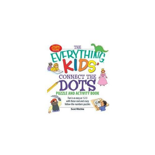 Everything Kids' Connect the Dots Puzzle and Activity Book