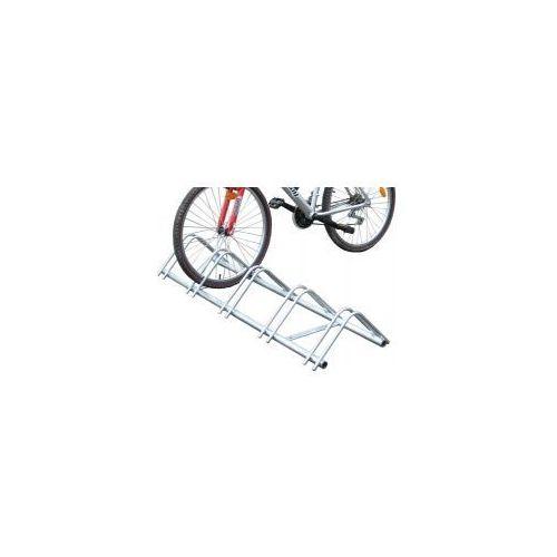 """Stojak rowerowy modułowy typu """"infinite"""" - 5 stanowisk, powierzchnia ocynkowana ogniowo marki Procity"""