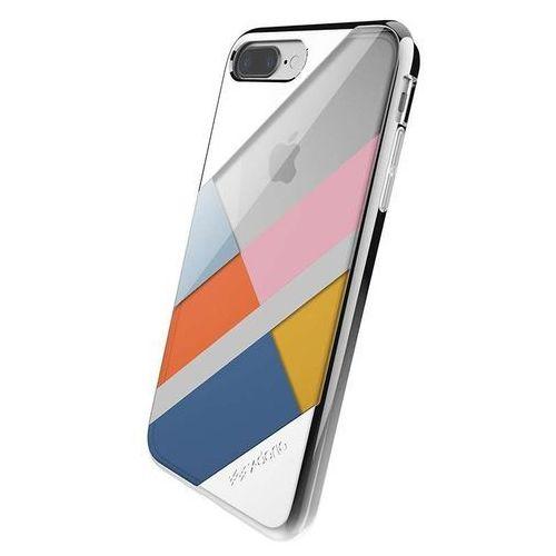 X-Doria Revel Lux - Etui iPhone 7 Plus (Silver Blocks) (6950941456197)