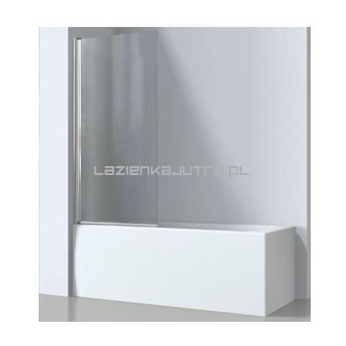 OMNIRES KENTON Parawan nawannowy 70x140cm, szkło transparentne MP75, MP75