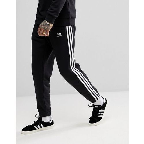 adidas Originals adicolor 3-Stripe Joggers In Black CW2981 - Black, w 5 rozmiarach