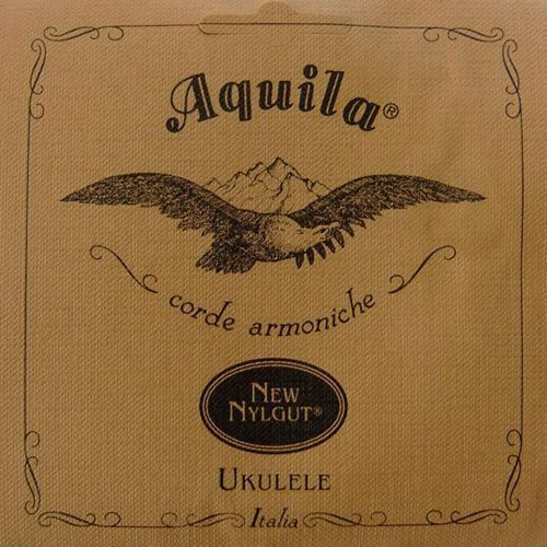 Aquila bionylon nylgut ukulele single, soprano, 4th low-g, powlekana