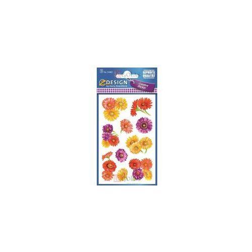 Naklejki z kwiatami - Margaretki (4004182544839)