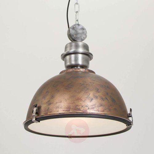 bikkel lampa wisząca brązowy, 1-punktowy - przemysłowy - obszar wewnętrzny - bikkel - czas dostawy: od 6-10 dni roboczych marki Steinhauer