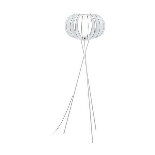 Eglo 95612 - Lampa podłogowa STELLATO 2 1xE27/60W/230V, kolor biały